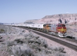BNSF 752 is west bound,